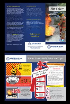 Fire Safety Brochure - AMERIND Risk