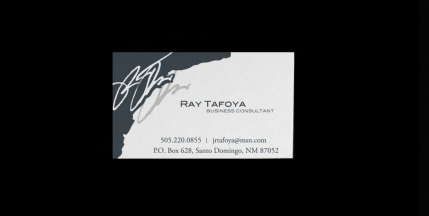 Business Card - Ray Tafoya