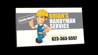 Business Card - Brian's Handyman Service